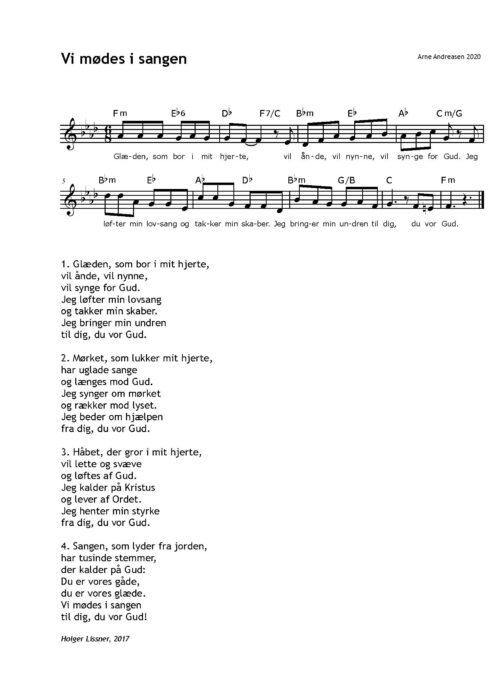 Vi mødes i sangen